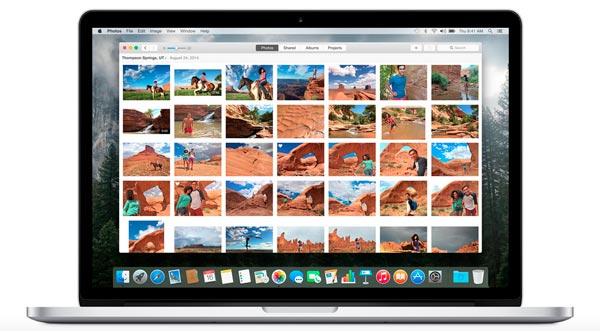 aplicación foto para MAC