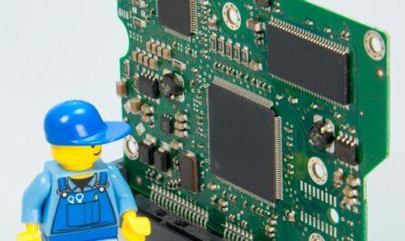 Imagen que representa la placa base de un ordenador