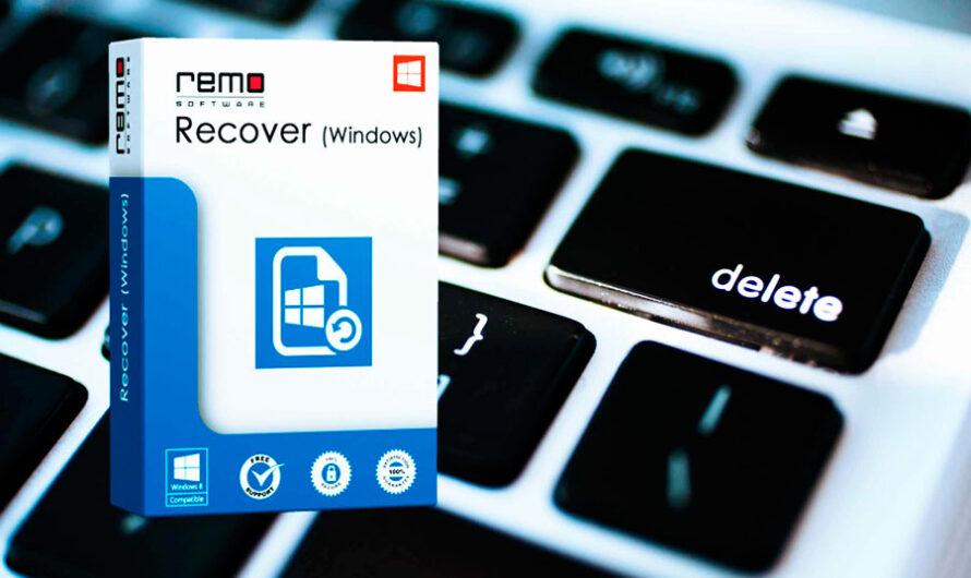 Remo Recover, potente herramienta para recuperar información